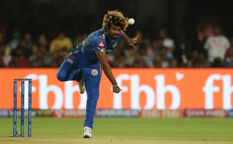 Lasith Malinga's final ball of the innings which was a no-ball was completely missed by the umpires as RCB managed 181/5 in reply to MI's 187. RCB needed six off the last ball to take the game into the Super Over but Malinga finished the over with a dot ball, however, a no-ball would have given RCB a free-hit and a chance to salvage the match. Sportzpics