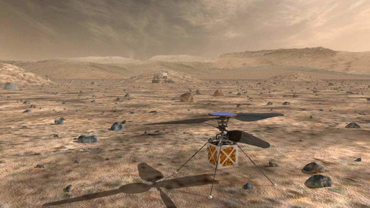 NASA's Mars 2020 mission to test a helicopter in addition ...