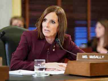 Senator Martha McSally, first woman pilot to fly in combat for US Air Force, says she was raped by senior