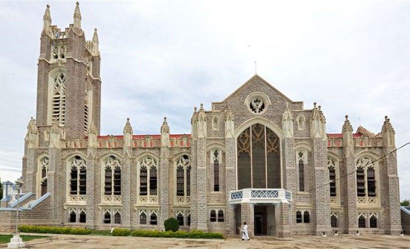 The Medak church. Image courtesy Medak district administration