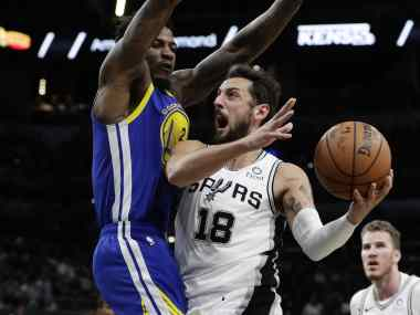 NBA: Spurs beat Warriors to register ninth straight victory; Nuggets clinch playoff spot with win over Celtics