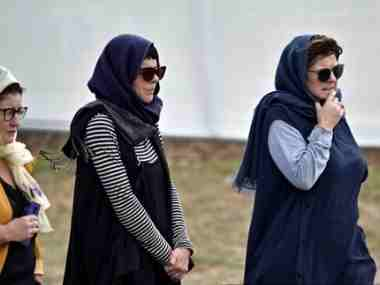 New Zealand mosque shooting: Kiwi women across faiths don headscarves to show solidarity with victims