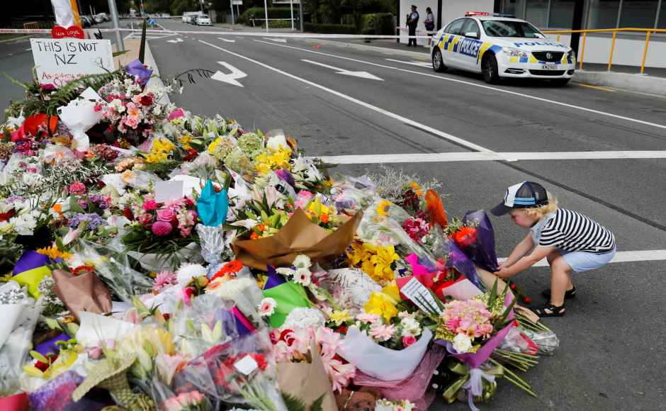A day after deadly shootings attwo mosques in New Zealand's Christchurch, where 49 Muslims were killed, people across the nation took to the streets to offer their condolences. Reuters