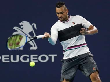 Australian Nick Kyrgios fined almost ,000 for Queens Club antics
