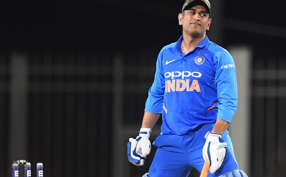 Local boy MS Dhoni could not make merry on his home ground as he fell against the guile of Adam Zampa for just 26 made off 42 balls. AFP