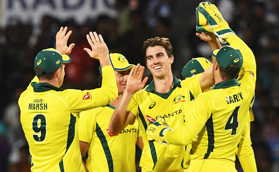 Australia display all-round effort to beat India by 32 runs in third ODI