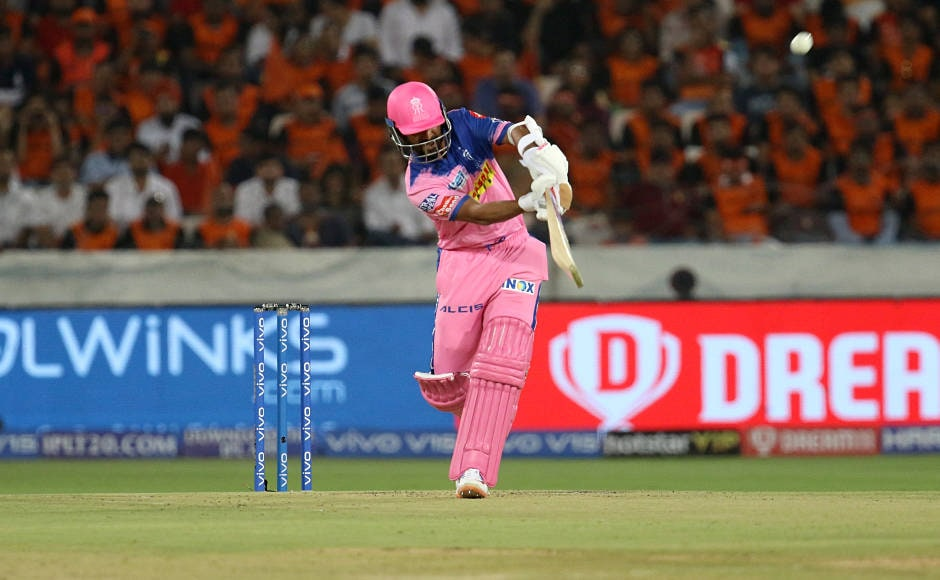 Ajinkya Rahane scored 70 off 49 balls, that included 4 fours and 3 sixes.Hestarted off very slowly butalso made sure that heoccupied one end. Sportzpics