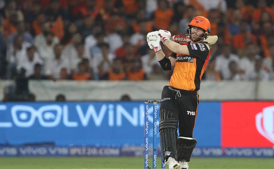 Just when it appeared that Sanju Samson will run away as the best batsman of the night, David Warner hit a blistering half-century. That really set it up the platform for victory for Hyderabad as when he departed, Hyderabad were comfortably cruising towards victory. Sportzpics