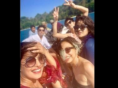 Priyanka shares photo from The Sky is Pink set; Neha Kakkar celebrates 20 mn followers: Social Media Stalkers' Guide
