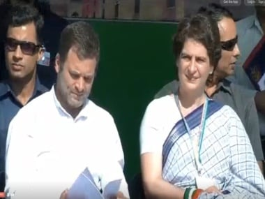 Congress Lok Sabha Elections 2019 Campaign Updates: Priyanka makes first political speech, Rahul attacks Modi over Rafale