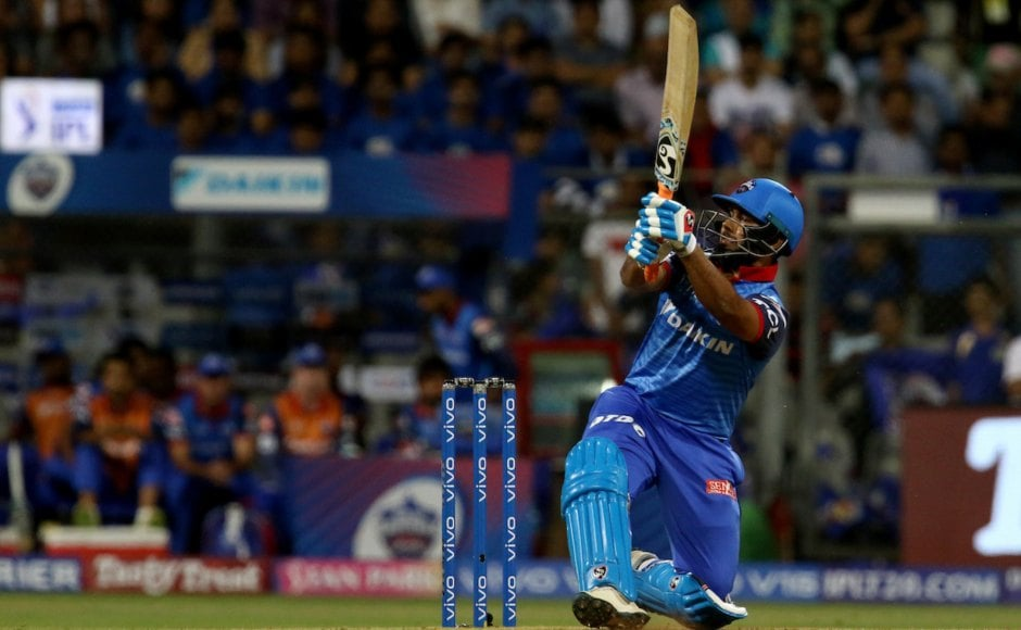 Rishabh Pant was the star of the match as he brought his best game forward scoring 78 off 27 to help DC score 213/6 against MI. Pant slammed seven sixes and seven fours during his whirlwind innings. Sportzpics