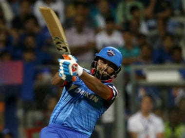 Rishabh Pant smashed an unbeaten 78 off just 27 balls to help Delhi Capitals post a mammoth 213/6. Sportzpics