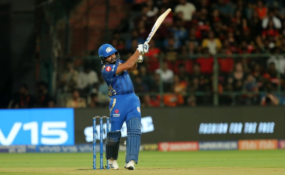Rohit Sharma (48) and Quinton de Kock (23) gave Mumbai the perfect start after they were asked to bat first by Virat Kohli, who won the toss. Sportzpics