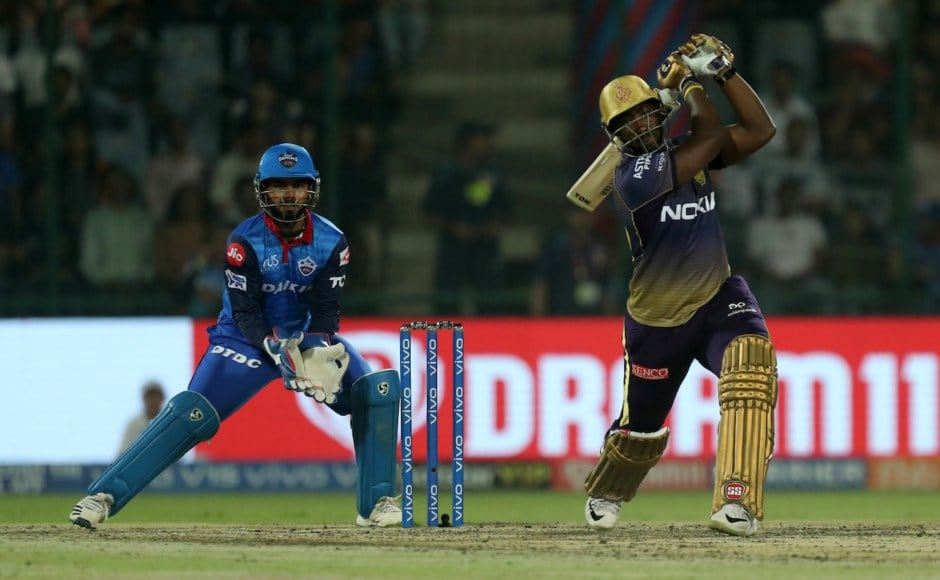 KKR's Andre Russell extended his explosive run in this edition of the IPL, clobbering 62 off 28 balls propelling his side to a competitive 185. Sportzpics