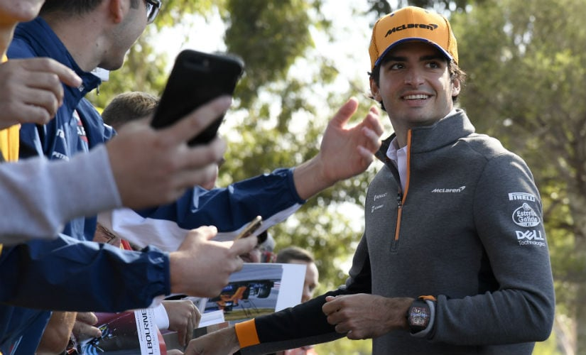 Mclaren are fielding an all-new driver line-up with Carlos Sainz Jr (in pic) and Lando Norris AP