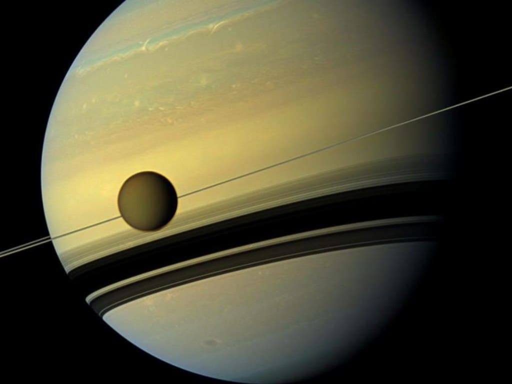 NASA's Cassini reveals details of a collection of mini-moons nestled between Saturn's rings- Technology News, Firstpost