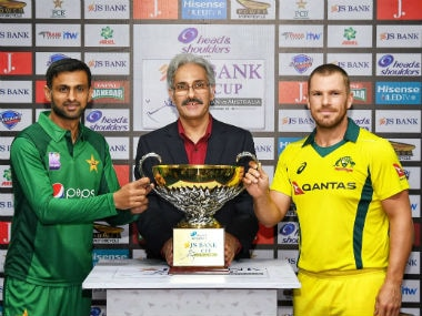 Pakistan vs Australia, LIVE Cricket Score, 1st ODI at Sharjah