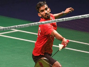 Hong Kong Open: Kidambi Srikanth enters semi-finals after China's Chen Long concedes QF clash due to injury
