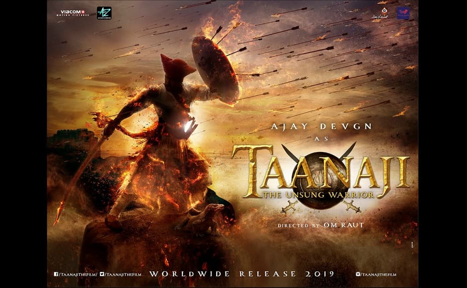 Backed by Bhushan Kumar of T-Series, Devgn's period drama Taanaji: The Unsung Warrior is scheduled to hit theatres on 22 November
