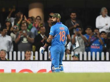 India vs Australia: Virat Kohli's 41st ODI century in vain as visitors keep series alive with 32-run win at Ranchi
