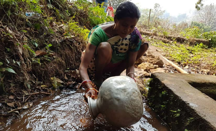 Many women have to go to isolated locations just to engage in basic chores. Image courtesy: 101Reporters
