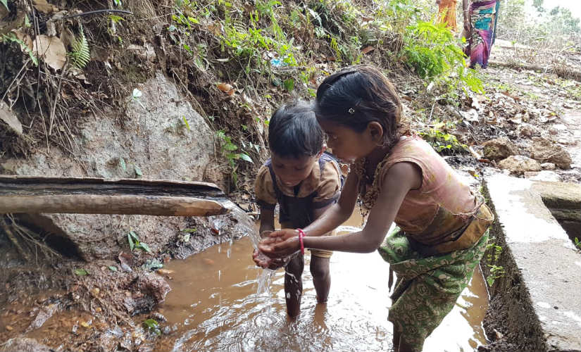 Most people in Odisha's Keonjhar have to struggle for access to safe drinking water. Image courtesy: 101Reporters