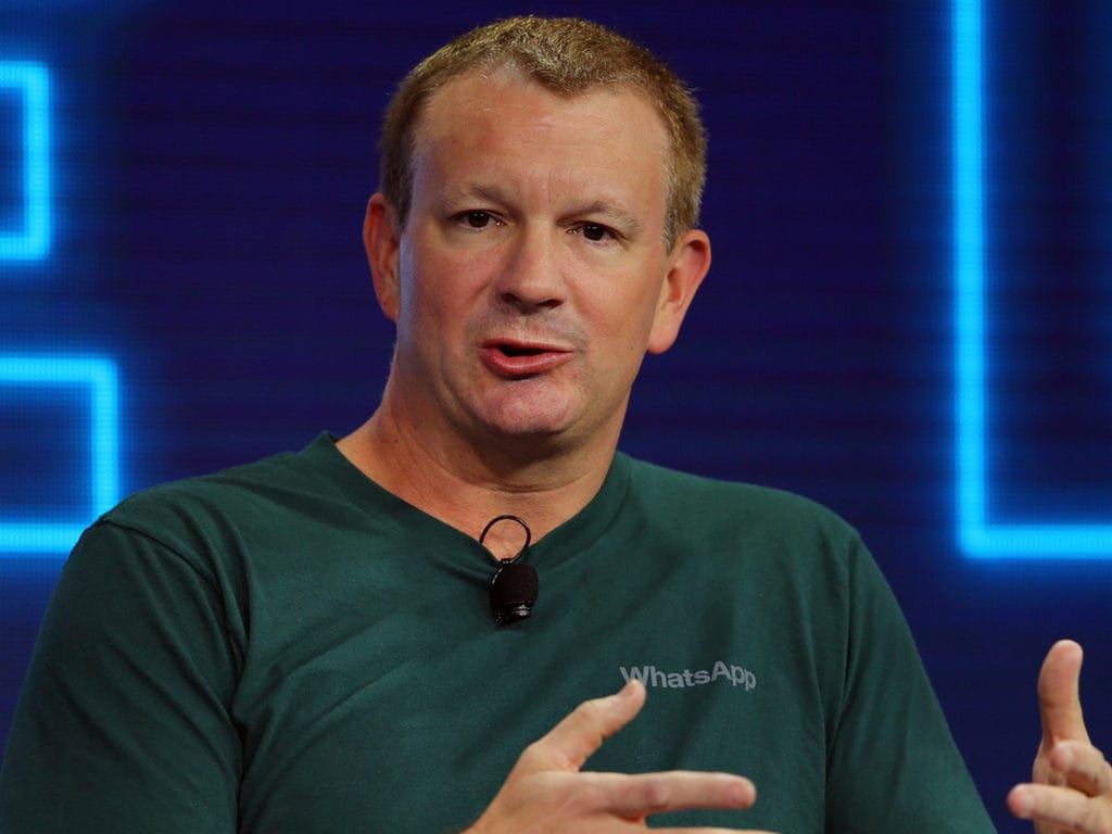 WhatsApp co-founder Brian Acton urges students to delete their Facebook account