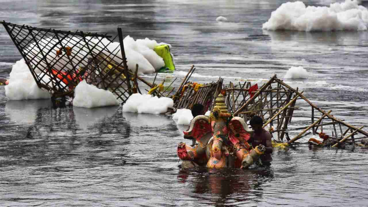 Yamuna is choking from a mix of illegal encroachment, farming, elections: Report