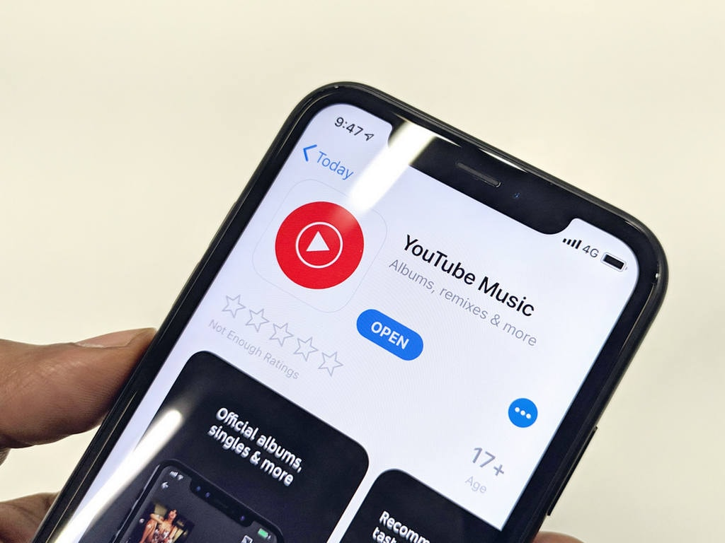Youtube Music app downloaded 3 million times within a weeks launch
