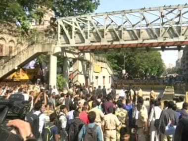 BMC to dismantle collapsed foot overbridge, chief engineer to submit first probe report in 24 hours