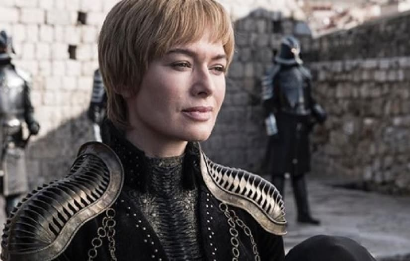 As does Cersei. Possibly seeing her sellsword army come in from Essos.