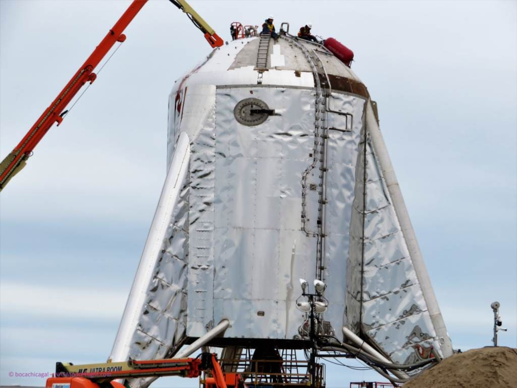 SpaceX aims to test prototype for Mars rocket ship this week