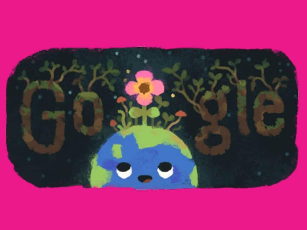 "Google Doodle celebrates Spring Equinox 2019"""