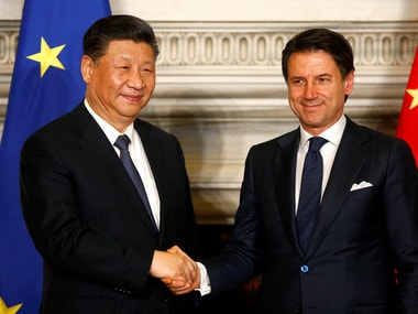 Italy endorses China's ambitious Belt and Road Initiative, becomes first major Western power to back project