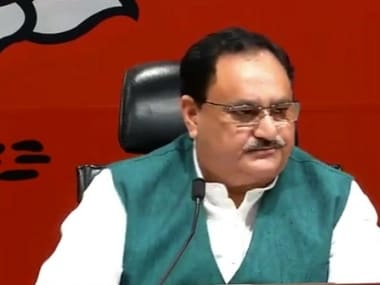 JP Nadda claims Karnataka govt fell due to internal reasons, says BJP will provide stable govt in state