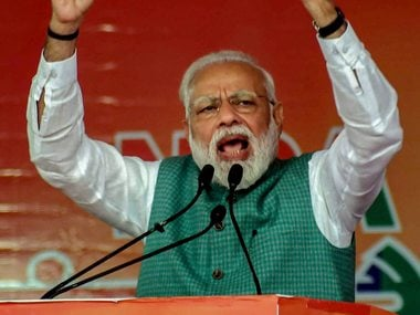 NDAs Sankalp rally in Bihar marked by references to Narendra Modis 56-inch chest, fight against terror
