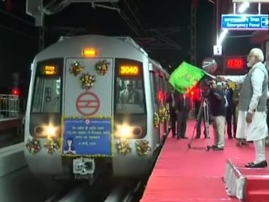 Narendra Modi inaugurates Delhi Metros Red Line extension to Ghaziabad, passenger services to start from Saturday