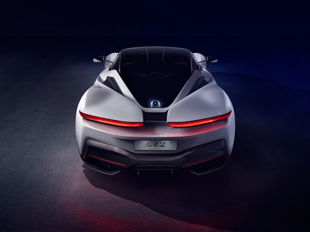 The hypercar is designed around a 120 kWh battery pack and has 1,900 hp/2,300 Nm torque on tap. Capable of a top-speed over 350 kph, Battista can accelerate to 100 kph in less than two seconds.