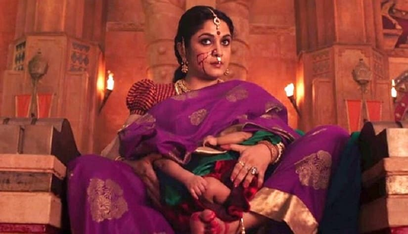 Ramya as Sivagami in the Bahubali franchise. Image via Twitter/@epifh0
