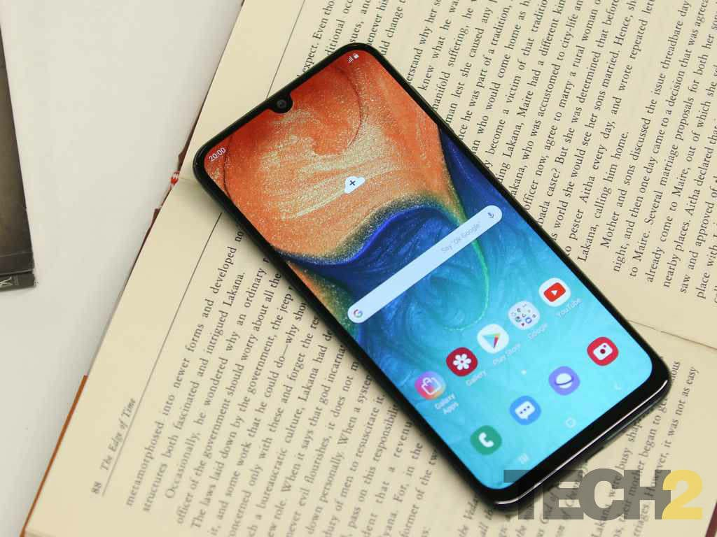 The Galaxy A30 carries a gorgeous Super AMOLED panel.