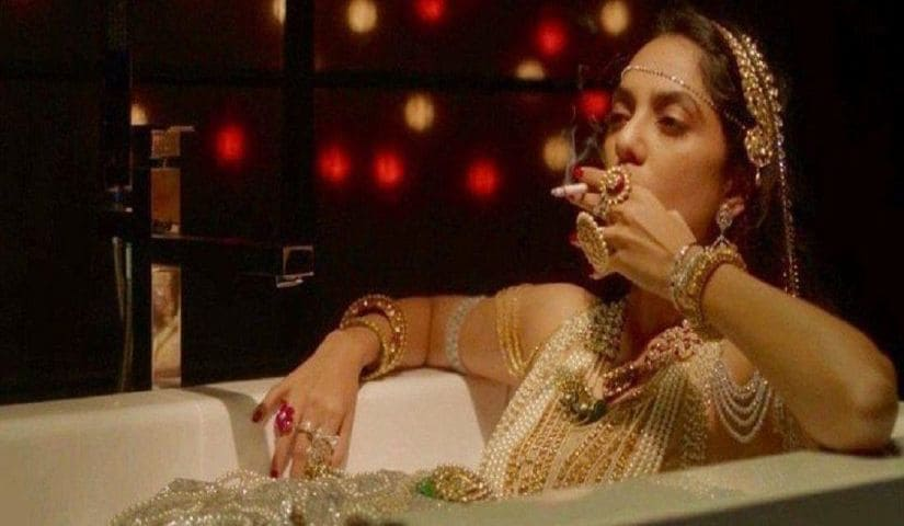 Sobhita Dhulipala in a still from Made in Heaven. Amazon Prime Video
