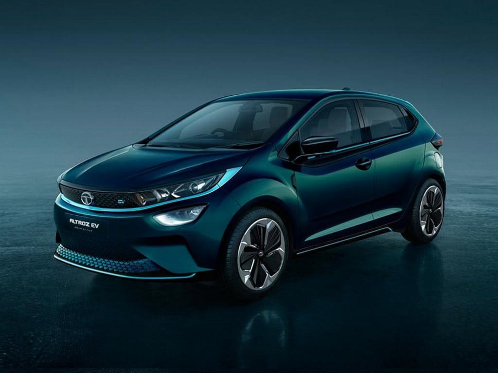The Tata Altroz EV was showed off along the Altroz hatchback. Both the cars are the production versions of the 45X concept that was unveiled at the 2018 Auto Expo.