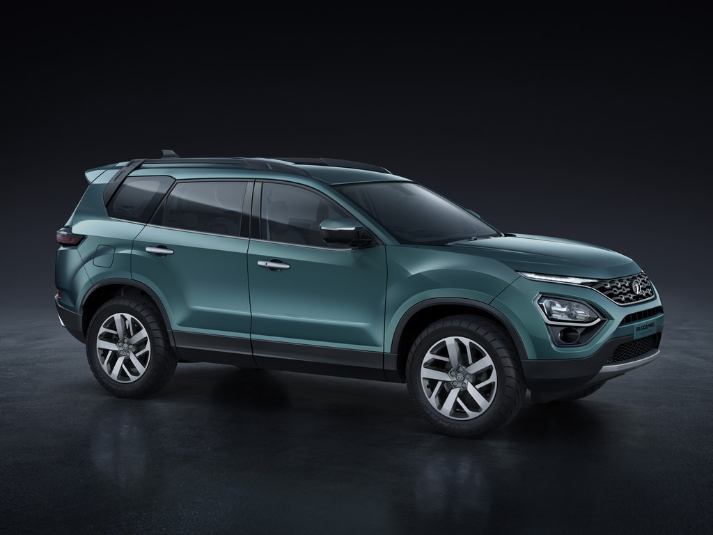 Tata Tata Buzzard SUV is a seven-seater variant of the Tata Harrier.  The Buzzard is codenamed H7X