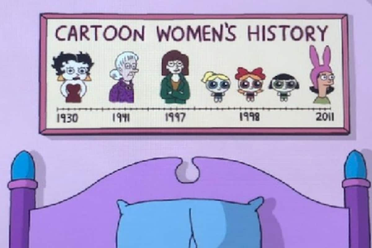 The Simpsons Pay Tribute To Iconic Female Cartoon Characters Twitter Users Point Out Omissions Entertainment News Firstpost