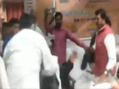 BJP MP thrashes party MLA with shoe in Uttar Pradesh: Footwear has had a long history as a tool for political protest