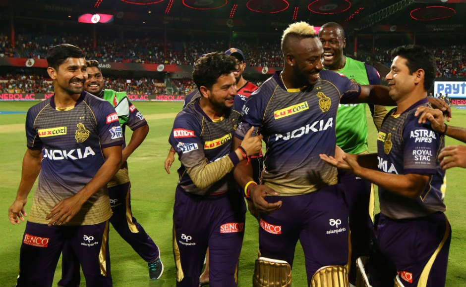 Andre Russell blitz guides Kolkata Knight Riders to five-wicket win over Royal Challengers Bangalore