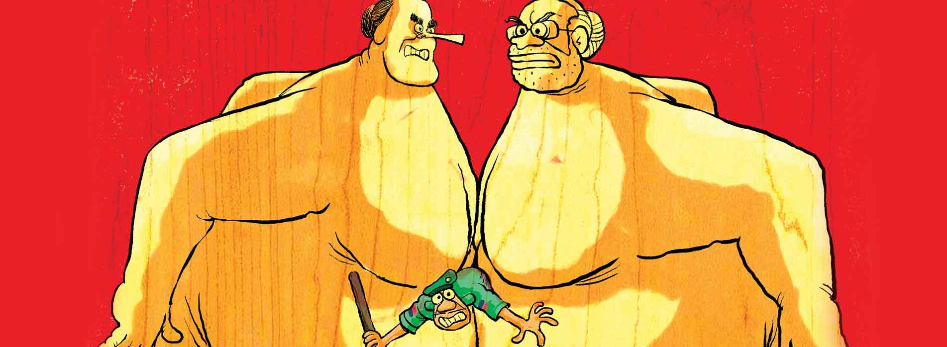 Amethi's new slogan: 'Chowkidar sore hai'