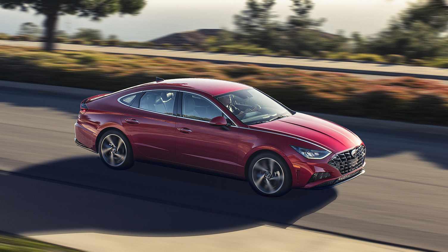 2020 Hyundai Sonata Unveiled At New York Auto Show Here U0026 39 S
