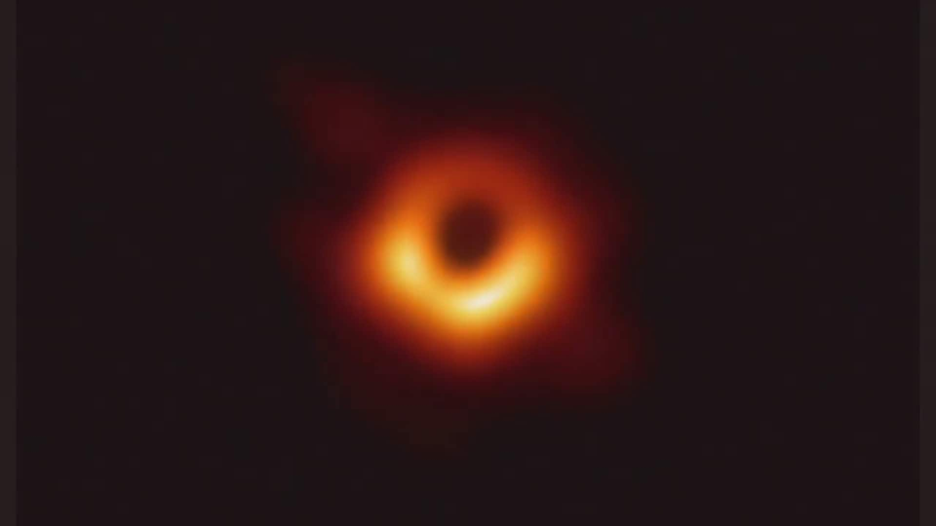 Black hole event horizon: This is the first image of a black hole captured using a global network of telescopes