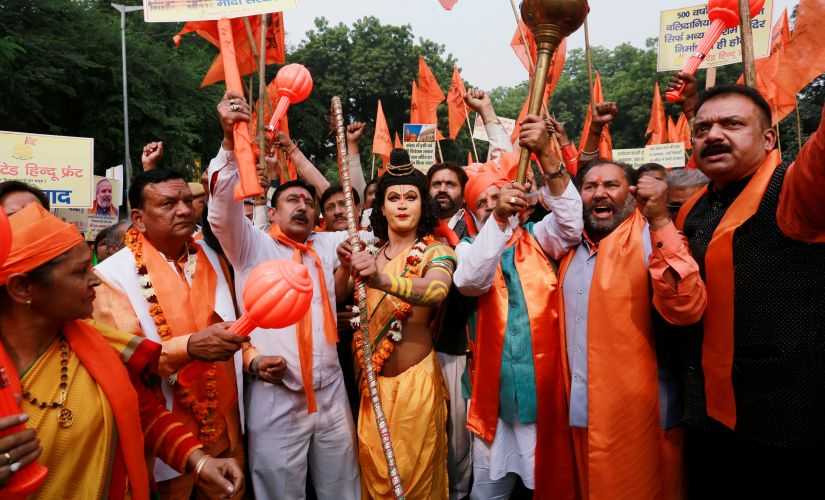 Ahead of Lok Sabha polls, BJP maintains safe distance even as hardline Hindutva groups plan to mobilise over 10 mn for Ram temple in Ayodhya